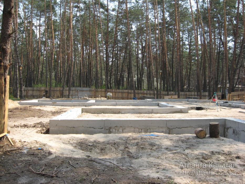 Расчет монолитной плиты фундамента Подольский район