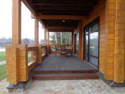 частный дом с террасой